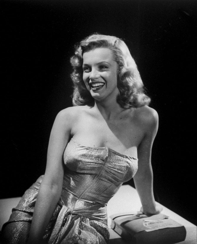 Marilyn Monroe before Plastic Surgery