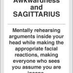 Social Awkwardness and Sagittarius