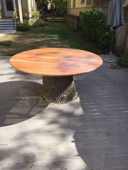 Peculiar Tree Stump Table Custom Tree Stump Table Tree Stump Table Wehrli Furniture Tree Stump Table Decor Tree Stump Table Target