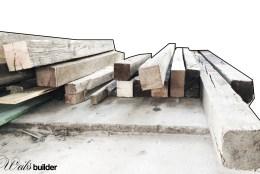 Holz in die Hütte…