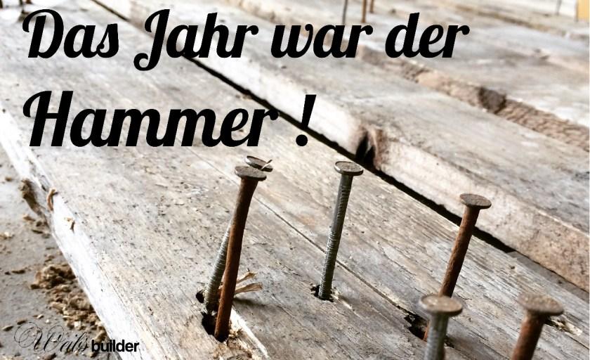 Hammer Jahr !