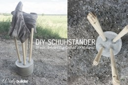 DIY-Schuhständer