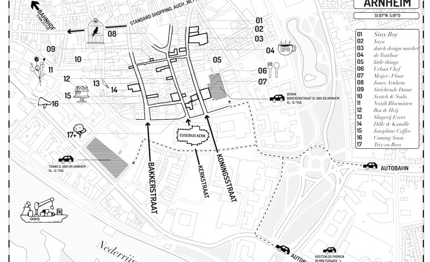 Arnheim City Design Route