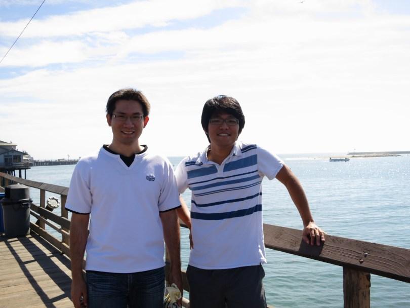 我的國中同學兼好朋友─姜漢威:)