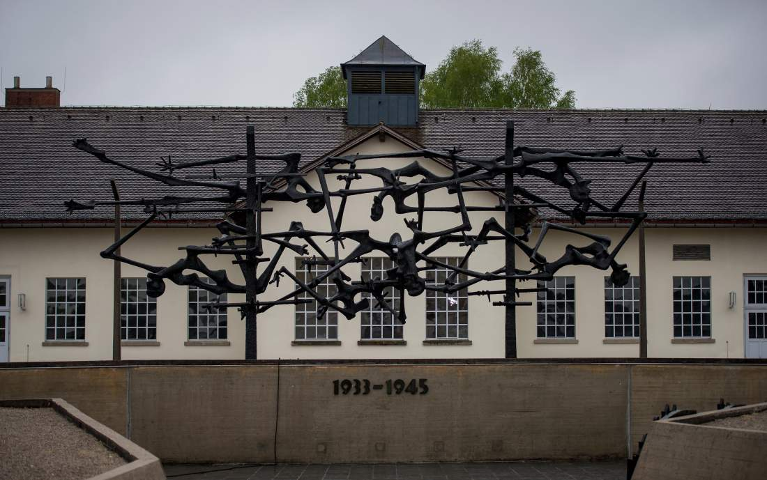 MUNICH, GERMANY - MAY 1:  The central memorial of the former Dachau concentration camp site, seen on May 1, 2015 in Dachau, Germany. Dachau was the first Nazi concentration camp and began operation in 1933 to hold political prisoners, though it later expanded to include Jews, common criminals and foreign nationals. It served mainly as a source of slave labour during World War II and included approximately 100 sub-camps spread across southern Germany and Austria. At least 30,000 inmates died before its liberation by U.S. troops on April 29, 1945. Survivers and liberators of the camp commemorate the 70th anniversary of the liberation between April 29 and May 1, 2015. (Photo by Joerg Koch/Getty Images)