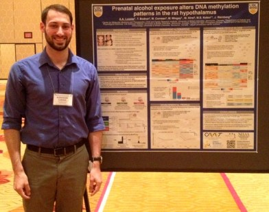 Alex Lussier Receives Poster Award for CFRI Research Forum