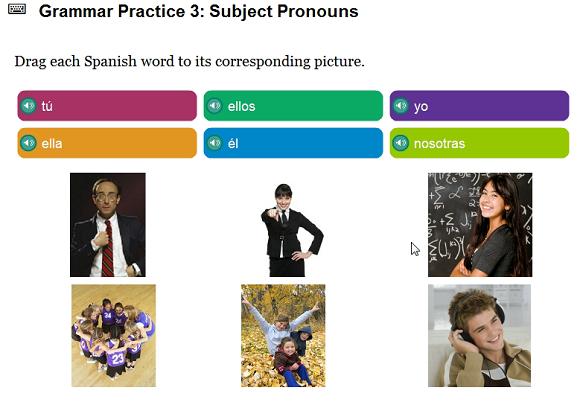 grammar spanish