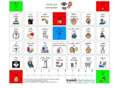communicationboard arabic-engli