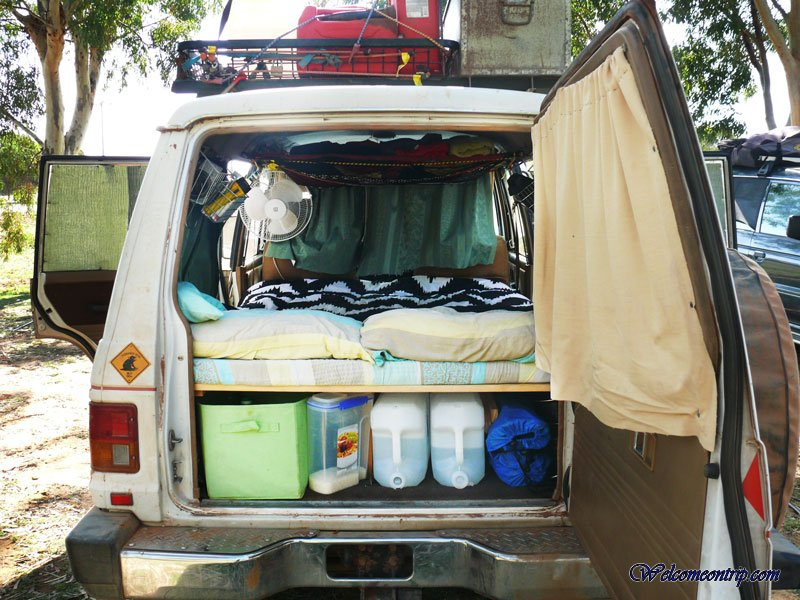 am nager son 4 4 en camper 4wd welcome on trip. Black Bedroom Furniture Sets. Home Design Ideas