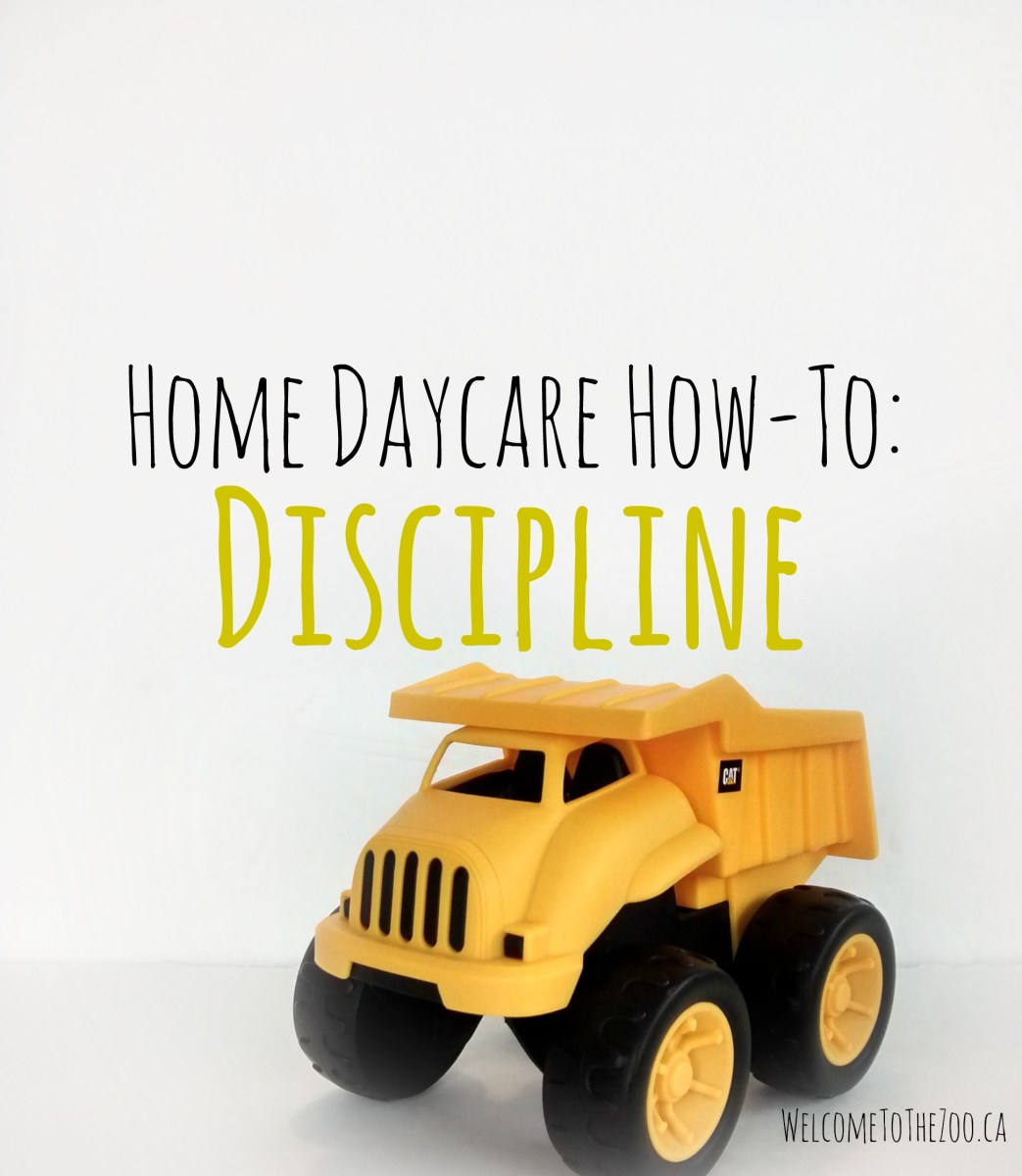Home Daycare How-To: Discipline