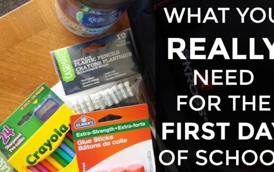 Back To School Shopping: Which Supplies Do You Really Need?