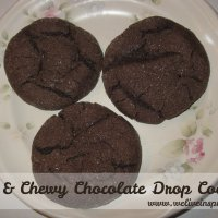 Soft and Chewy Chocolate Drop Cookies Recipe