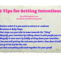 My Latest Miracle plus Tips on Setting Intentions to Achieve a Goal