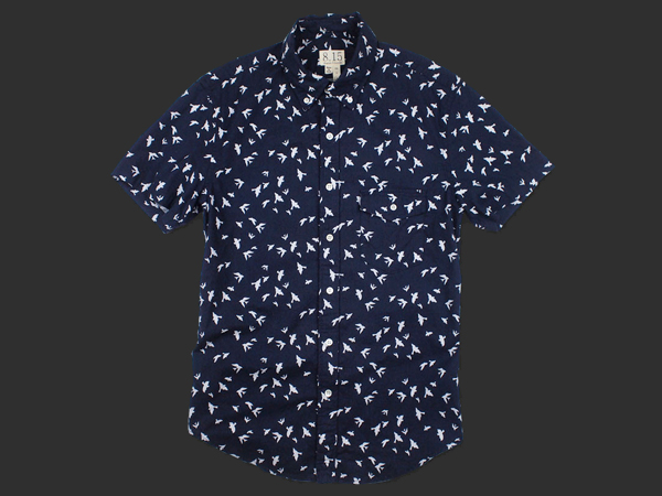 August_Fifteenth_Printed_Poplin_Short_Sleeve_Shirts_1