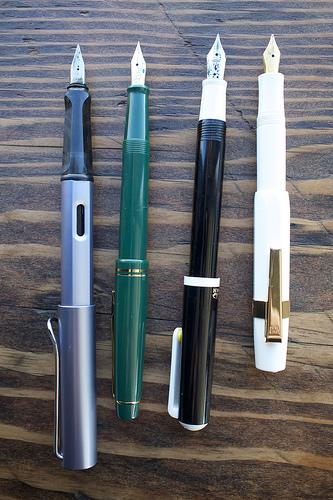 Modern Fountain Pen Stash
