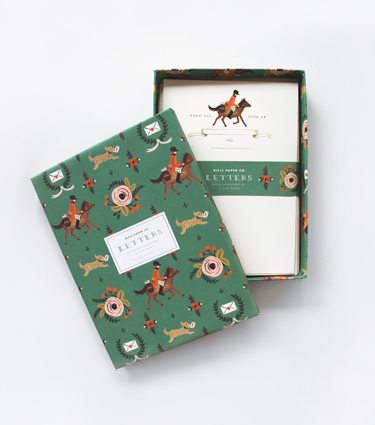 Rifle Paper Co Equestrian Stationery Set