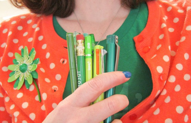 St. Paddy's Day Pens