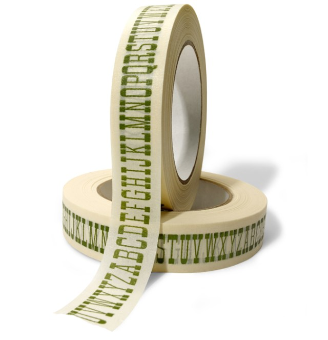 House Industries Alphabet Masking Tape