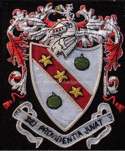 Coats of Arms / Family Crests Heritage Blazer badges