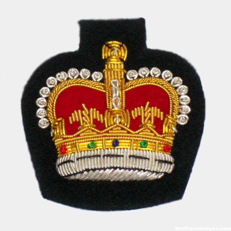 Crown Blazer badges