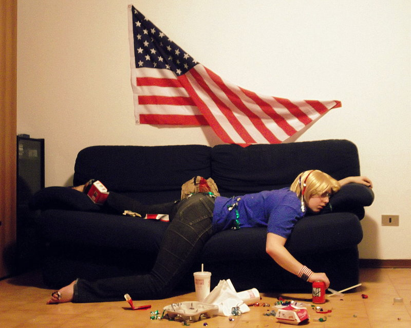 4th of july hangover