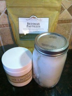 ingredients How to Make Lotion Bars