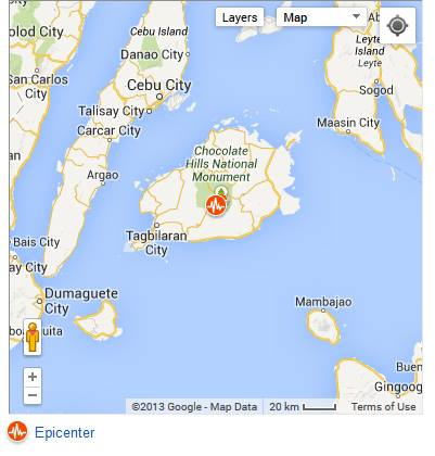 October-15-Earthquake-Bohol-Cebu - 7.2 quake hits Bohol - Philippine Business News