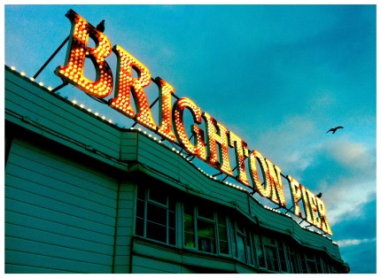 Brighton Pier © We Love Food