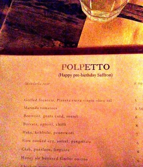 POLPETTO | BERWICK STREET | POLPO | MENU | WE LOVE FOOD, IT'S ALL WE EAT