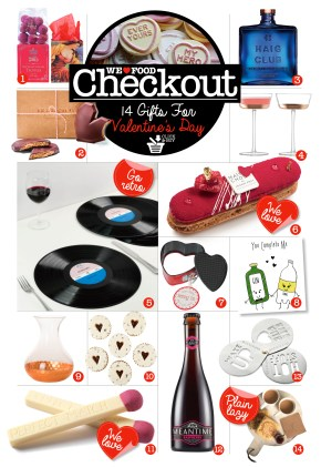 VALENTINES DAY FOODIE GIFT GUIDE | CHECKOUT | WE LOVE FOOD IT'S ALL WE EAT