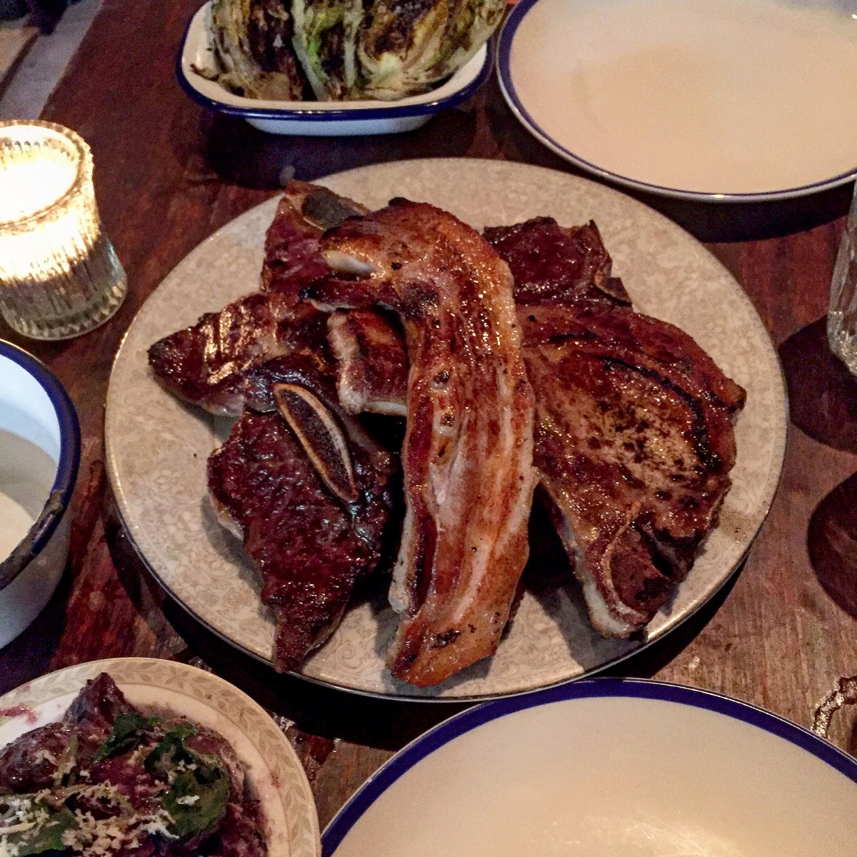 Chops Away! | Blacklock, 24 Great Windmill Street, Soho, London W1D 7LG