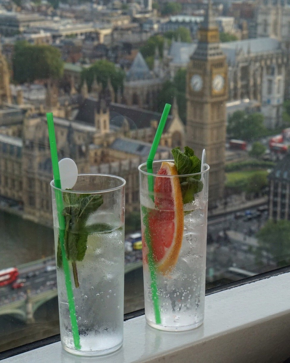Gin With A Spin | Gordon's Gin And Schweppes Experience On The Coca-Cola London Eye