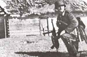 Maschinenpistole MP 38 in Russland