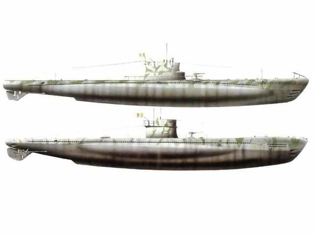italienische U-Boote