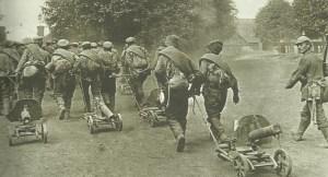 Russische Gefangene Schlacht von Warschau