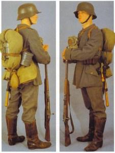 deutsche 1915-Felddienstuniform