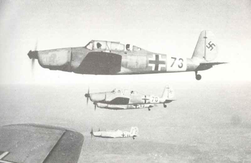 Fortgeschrittenen-Trainer vom Typ Arado 96