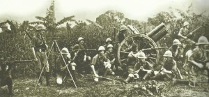 Britische Soldaten in Kamerun