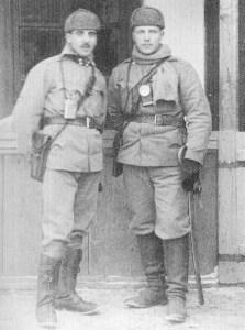 Zwei österreich-ungarische Offiziere