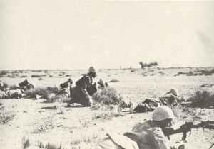 Italienische Infanterie Nordafrika 1942