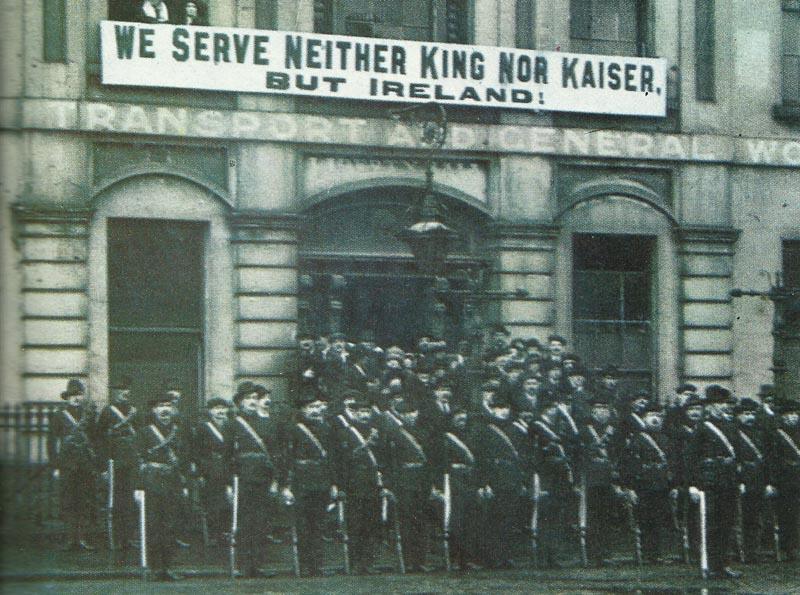 Angehörige der irischen Bürgerwehr