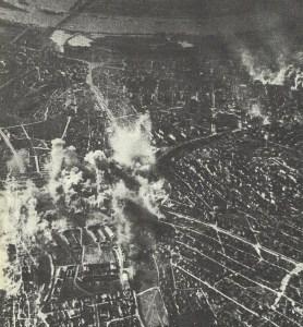 Stuka-Angriff auf Kaserne