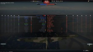 Teamliste War Thunder
