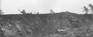 Szene aus dem Film 'Schlacht an der Somme'
