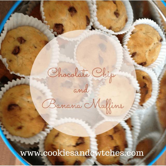 Chocolate ChipandBanana Muffins (1)