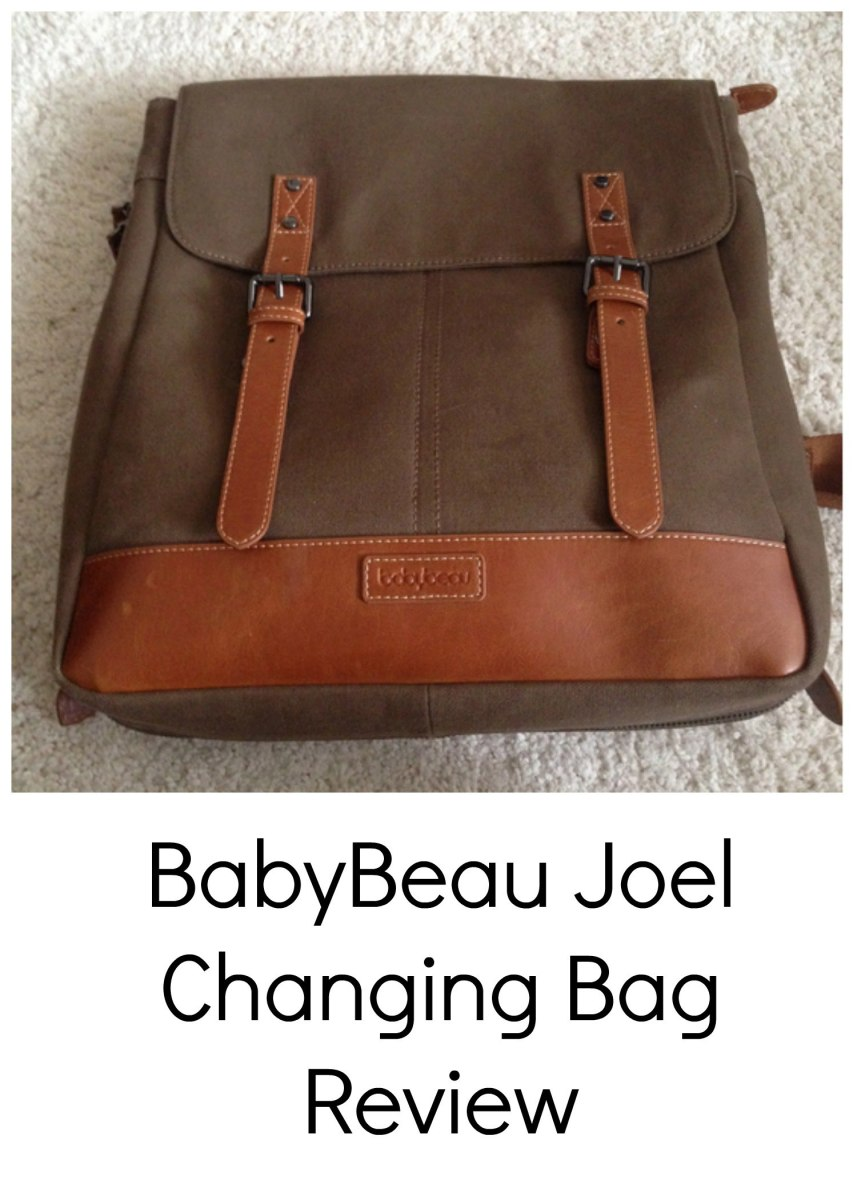 BabyBeau Joel Changing Bag #Review