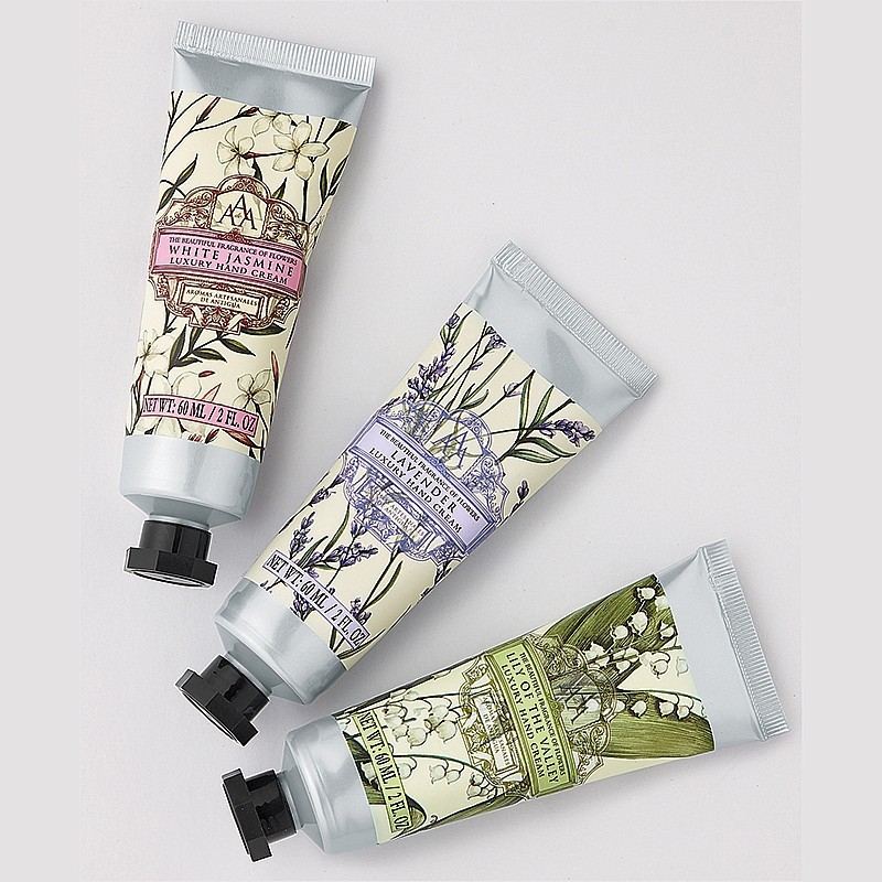 floral hand cream gift pack