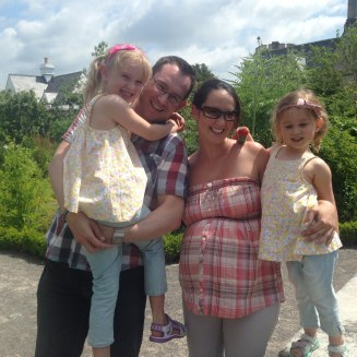 June - Last photo as a family of 4