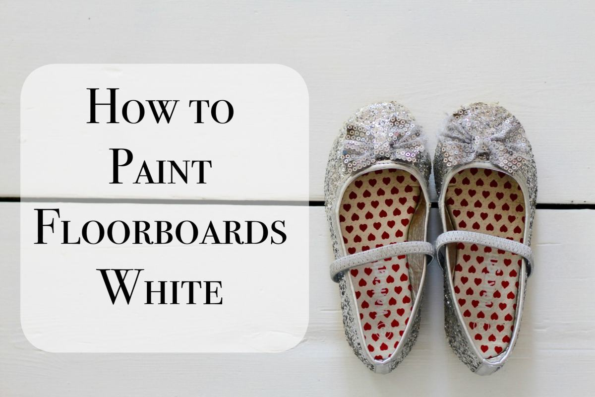 How To Paint Floorboards White with Rust-Oleum