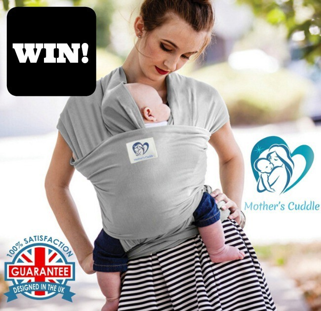 WIN A Mother's Cuddle Baby Wrap Sling